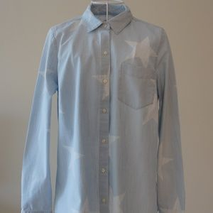 Classic Old Navy Cotton Button Down Shirt NWOT